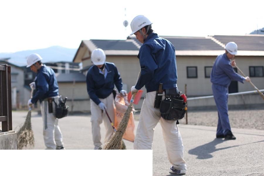 環境整備活動(地域清掃活動)
